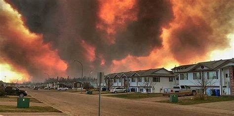 Canadian City Fort McMurray Evacuated As Massive Fire