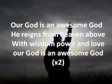 Awesome God by Michael W