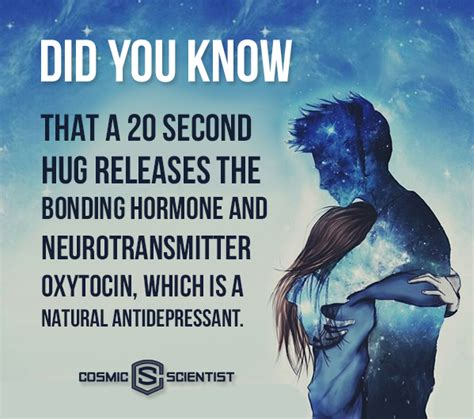 Did You Know A 20 Second Hug Releases A Boding Hormone