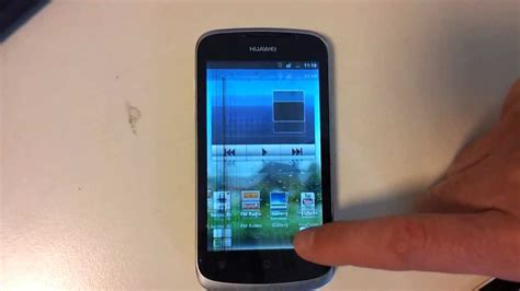Huawei Ascend g300 - display flickering jumping problem