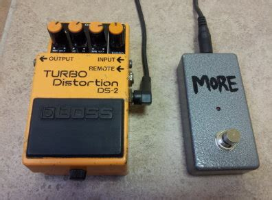 Boss Turbo Distortion Ds 2 With Remote Boost Pedal For