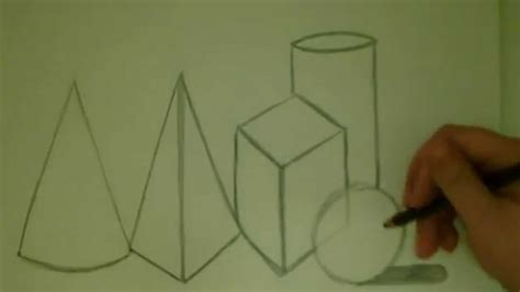 Let's Draw 3-D Shapes Together! - YouTube