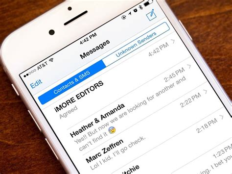 How to filter and disable notifications for iMessages from