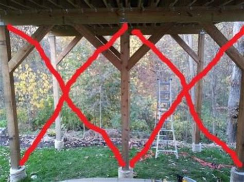 Help with sway in a tall and long deck