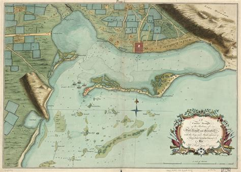 A correct draught of the harbours of Port Royal and