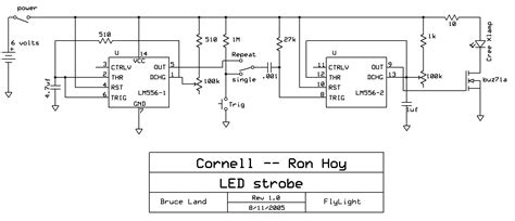 LED + 555 timers => BRIGHT strobe | Hackaday