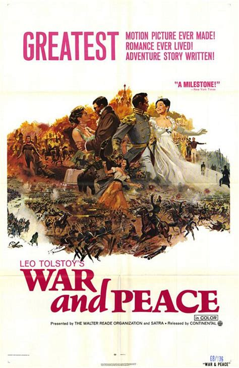War and Peace Movie Poster (#2 of 6) - IMP Awards