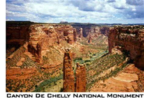 Canyon de Chelly National Monument   Navajo Indian