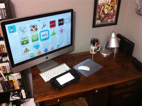Is it possible to connect a WiiU to an iMac?   MacRumors
