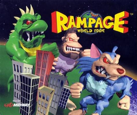 Rampage World Tour Characters - Giant Bomb