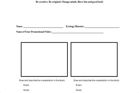 70+ Storyboard Templates - Free Word, PDF, PPT Documents