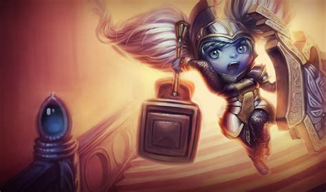 Nerfplz | League of Legends Poppy Wallpapers (Chinese