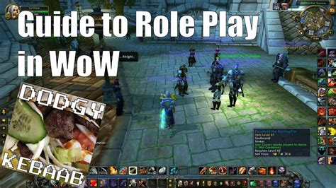 Guide to Role Play in World of Warcraft - YouTube