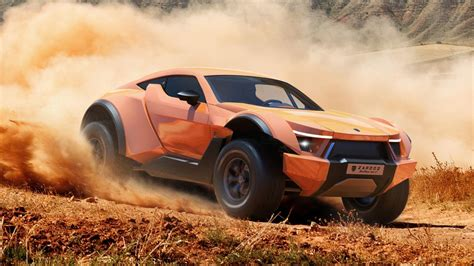 The Zarooq Sand Racer is a 518bhp supercar dune buggy