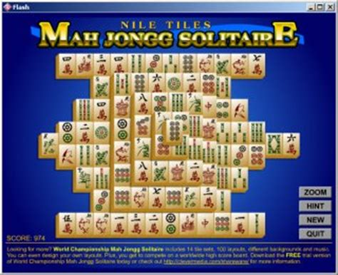 Download Nile Tiles MahJongg Solitaire for free